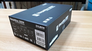 표준PC 최고의 가성비 파워서플라이, 잘만 MegaMax 500W 80PLUS STANDARD 사용기