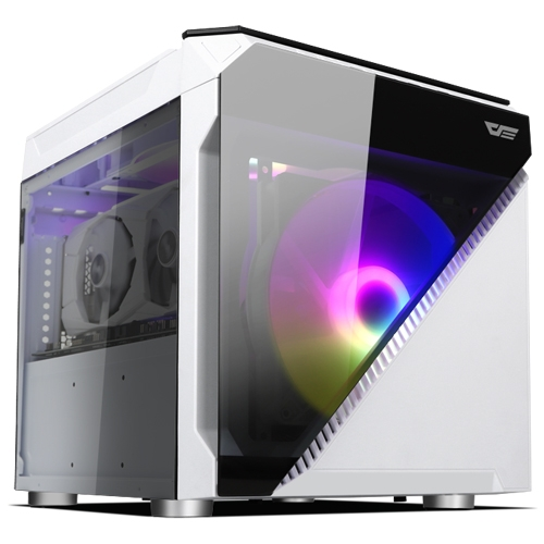다크플래쉬, 매력덩어리 큐브 PC 케이스 DLC 21(화이트) 다나와 선착순 특가 진행