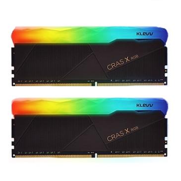 어제보다 13,780원 싸진 ESSENCORE KLEVV DDR4 16G PC4-25600 CL16 CRAS X RGB (8Gx2)