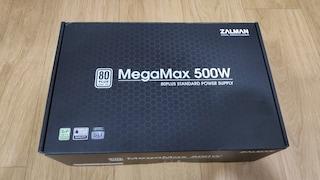 가성비 파워 추천, 잘만 MegaMax 500W 80PLUS STANDARD