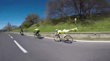 내리막길에서 자전거 타는법