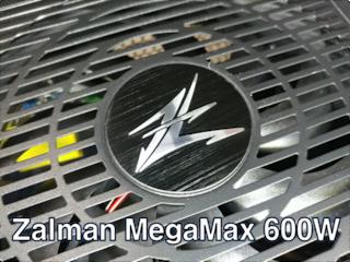 넉넉한 용량과 최고의 가성비 파워서플라이!! 잘만의 MegaMax 600W!!