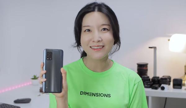 샤오미 미10 라이트 카메라가...