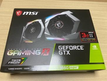MSI 지포스 GTX 1660 SUPER 게이밍 X D6 6GB 트윈프로져7 사용기입니다