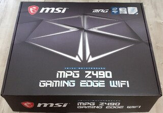 MSI Z490 게이밍 엣지 WIFI 사용기
