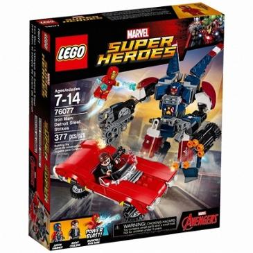 레고 마블 슈퍼히어로 아이언맨 디트로이트 스틸 공격 (76077)(해외구매) 68,200원 -> 60,010원(배송 10,000원)