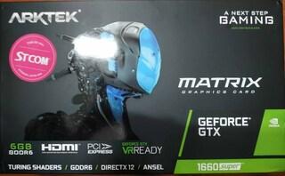 ARKTEK 지포스 GTX 1660 SUPER D6 6GB 사용후기