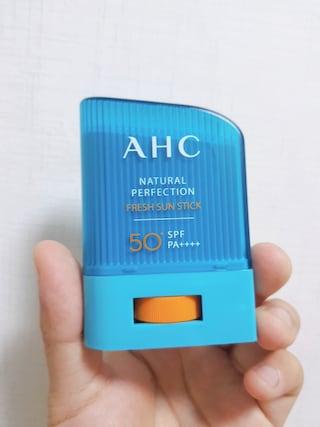 AHC 내추럴 퍼펙션 프레쉬 선스틱 사용 후기!