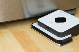 두 가지 청소가 가능한 아이로봇 Braava 390T