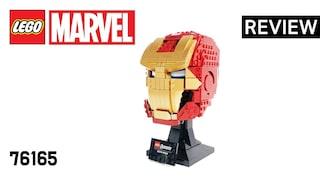 레고 마블 76165 어벤져스 아이언맨 헬멧(LEGO Marvel Avengers Iron Man Helmet)  리뷰_Review_레고매니아_LEGO Mania