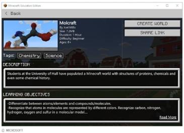 마인크래프트 교육용 버전, 크롬북에서 사용 가능