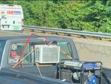 자동차 창문형 에어컨