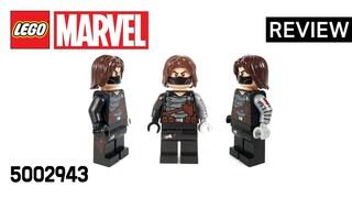 레고 마블 5002943 윈터 솔져(LEGO Marvel Winter Soldier)  리뷰_Review_레고매니아_LEGO Mania