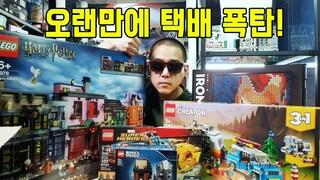 [택배 개봉기] 오랜만에 택배 폭탄 받았습니다. 레고 하울(LEGO HAUL)  레고매니아_LEGO Mania