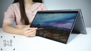 이것은 태블릿인가 노트북인가, GALAXY BOOK FLEX ALPHA (갤럭시북 플렉스 알파) 개봉해봤어요! ASMR  [박스를 열어요]