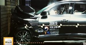 美 출시 앞둔 제네시스 GV80, 국내 신차 안전도 평가 결과는?