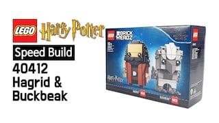 레고 해리포터 40412 해그리드와 벅빅(Harry Potter Hagrid & Buckbeak)  스피드빌드_Speed Build_레고매니아_LEGO Mania