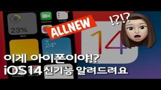 다들 ios14 정식 업데이트 하셨나요? 뒷면 터치하면 스크린캡쳐되는 '뒷면탭'기능도 들어간 iOS14! 사용해봤습니다