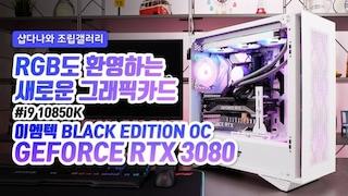RGB도 환영하는 새로운 그래픽카드 - 이엠텍 RTX 3080 BLACK EDITION OC