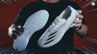 이렇게 얇은 터프화는 처음 봤습니다 '엑스 고스티드.1 TF' 풋살화입니다 (Adidas X Ghosted.1 TF)