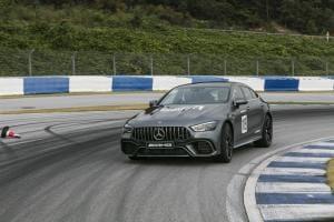 그 들이 만든 세 번째 스포츠카 'AMG GT 4도어 쿠페'