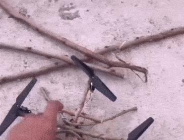 나무로 만든 드론