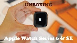 애플워치6 & se 언박싱 하울 | 에르메스 대신 알루미늄 워치를 사야하는 이유 | 브레이드 솔로루프와 솔로 루프 사이즈 구매팁
