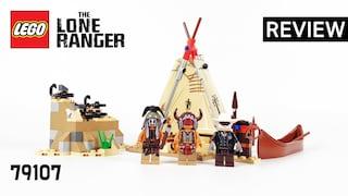 레고 론 레인저 79107 코만치족의 캠프(The Lone Ranger Comanche Camp)  리뷰_Review_레고매니아_LEGO Mania