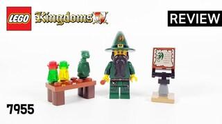 레고 킹덤 7955 마법사(LEGO Kingdoms Wizard)  수다 & 조립 리뷰_Review_레고매니아_LEGO Mania