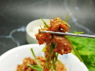 매콤한 맛의 고추장불고기 양념 청정원 고메레시피 연탄불고기 양념 소스 후기