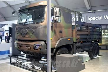 아차, 현대차 파비스 군용 트럭으로 개조 '두돈반 대체'
