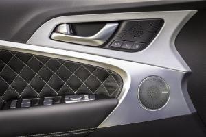 제네시스 G70 렉시콘 사운드 시스템, J.D파워 선정 최고의 멀티미디어