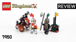레고 킹덤 7950 기사의 결투(LEGO Kingdoms Knight's Showdown)  리뷰_Review_레고매니아_LEGO Mania