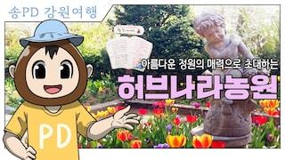 송PD] 평창 허브나라농원  한국 최초의 허브테마의 농원! [PlayG / 플레이지]