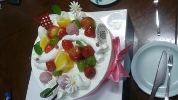 간만에 먹은 케이크!