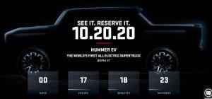 2022 GMC 허머 EV 월드시리즈 1차전에서 완전 공개. 크랩 모드 주목