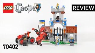 레고 캐슬 70402 성문 습격 작전(LEGO Castle The Gatehouse Raid)  리뷰_Review_레고매니아_LEGO Mania