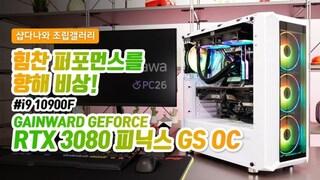 힘찬 퍼포먼스를 향해 비상! - GAINWARD RTX 3080 피닉스 GS OC