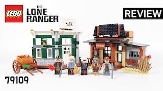 레고 론 레인저 79109 콜비 시티의 대결(LEGO The Lone Ranger Colby City Showdown)  리뷰_Review_레고매니아_LEGO Mania