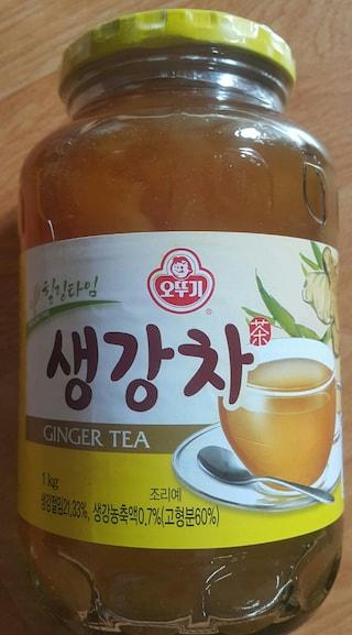 오뚜기 힐링타임 생강차