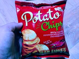 맛이없는 포테토칩
