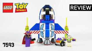 레고 토이스토리 7593 버즈의 스타 우주 지휘선(Toy Story Buzz's Star Command Spaceship)  리뷰_Review_레고매니아_LEGO Mania