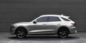 [오토포토] 쿠페형 SUV 스타일 제네시스 GV70, 디테일 뜯어보기
