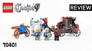 레고 캐슬 70401 황금 수송 작전(LEGO Castle Gold Getaway)  리뷰_Review_레고매니아_LEGO Mania