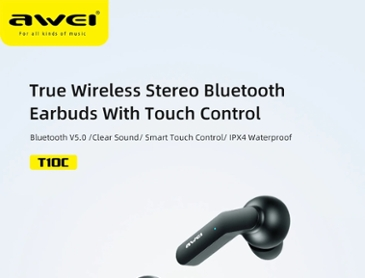 Awei tws 블루투스5.0 완전 무선 이어폰 ($21.18 / 무료배송)