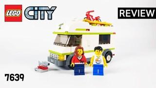 레고 시티 7639 캠핑카, 캠퍼(LEGO City Camper)  리뷰_Review_레고매니아_LEGO Mania