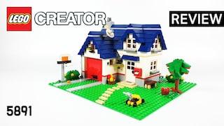레고 크리에이터 5891 블루 하우스(LEGO Creator 3in1 Apple Tree House)  리뷰_Review_레고매니아_LEGO Mania