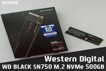 SSD추천! Western Digital WD BLACK SN750 M.2 NVMe (500GB) SSD 사용기
