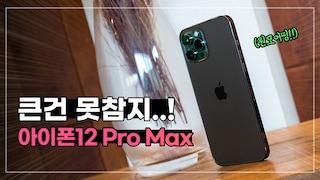 알려지지 않은 급나누기까지.. 큰건 못참지! | 아이폰12 Pro Max 자세한 첫인상 vs 아이폰12 프로 (ft 원모어띵)