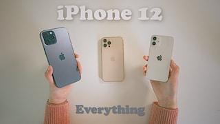 아이폰 12 미니 & 프로 맥스 & 프로 비교 | 미니랑 맥스 카메라 차이가 이렇게 크다니?! 미니 사기 전에 꼭 봐야해요 ( 아이폰 12 투명케이스 추천 )